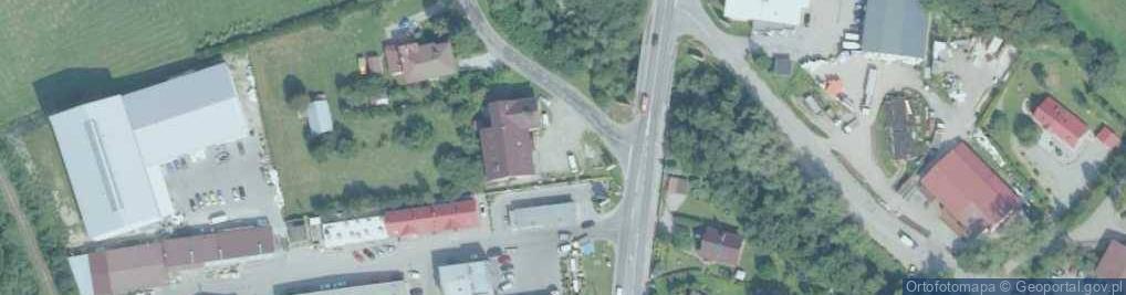 Zdjęcie satelitarne Rzeczna ul.