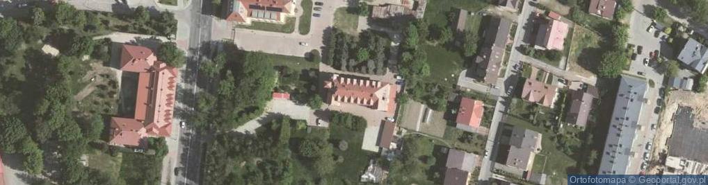 Zdjęcie satelitarne Saska ul.