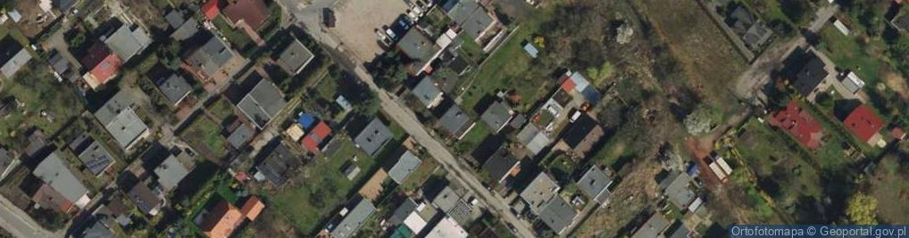 Zdjęcie satelitarne Sobotecka ul.