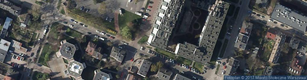Zdjęcie satelitarne Sulejkowska ul.