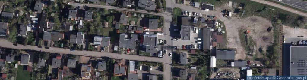 Zdjęcie satelitarne Szajnochy Karola ul.