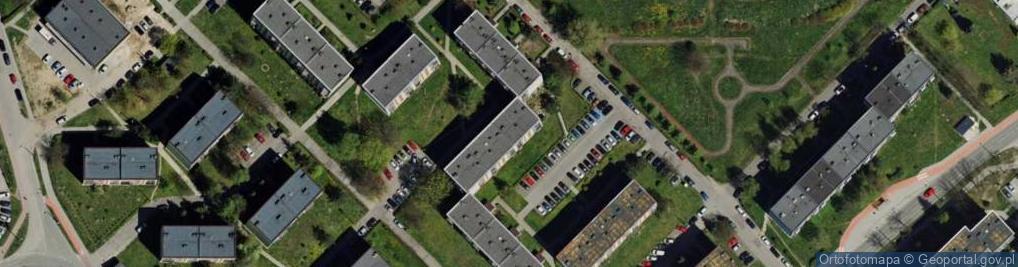 Zdjęcie satelitarne Szymały ul.