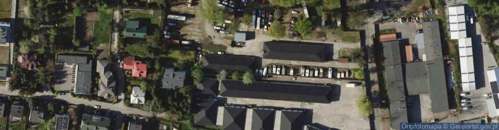 Zdjęcie satelitarne Wodzisławska ul.