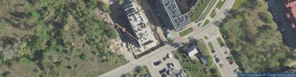 Zdjęcie satelitarne Wysoki Stoczek ul.