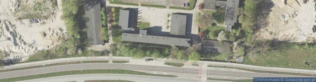 Zdjęcie satelitarne Wyścigowa ul.