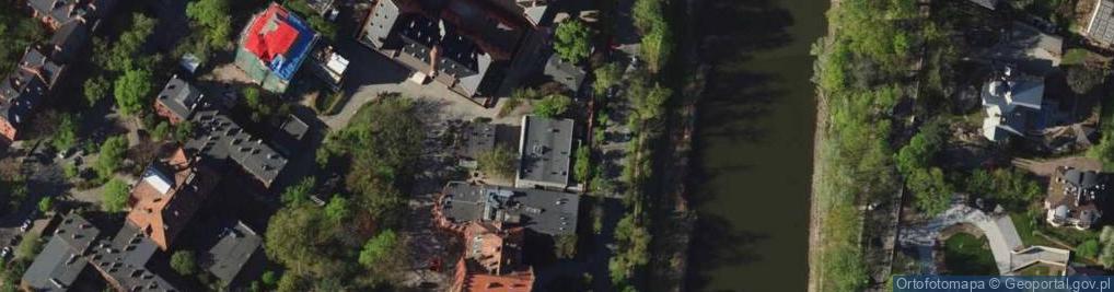 Zdjęcie satelitarne Wybrzeże Pasteura Ludwika ul.