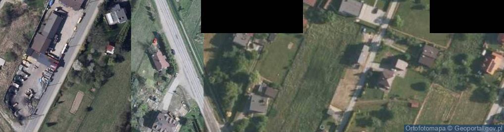 Zdjęcie satelitarne Żywiecka ul.