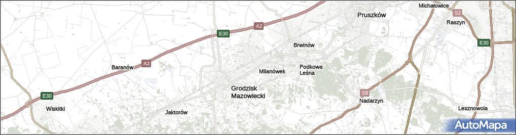 Milanówek gmina Milanówek