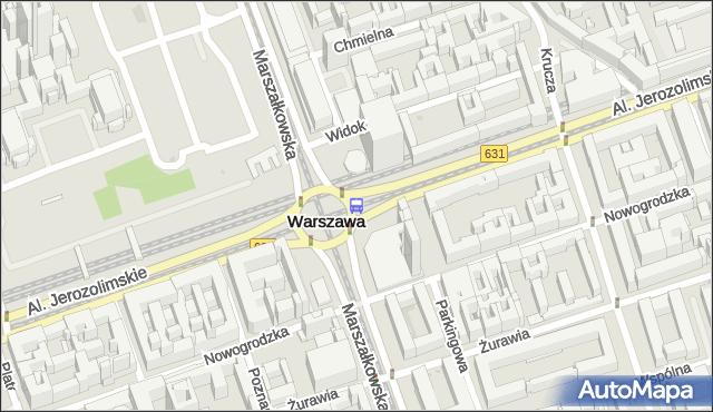 Przystanek CENTRUM 10. ZTM Warszawa - Warszawa na mapie Targeo