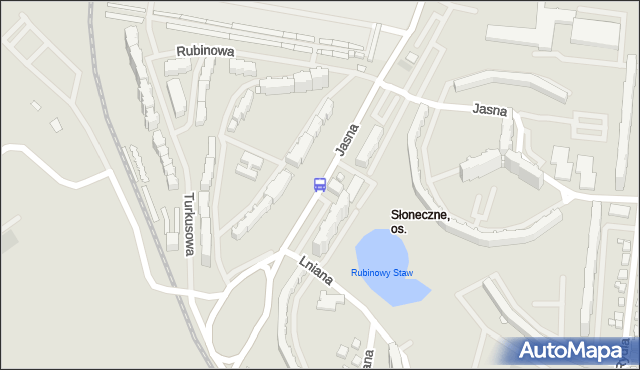 Przystanek Jasna Osiedle 11. ZDiTM Szczecin - Szczecin na mapie Targeo