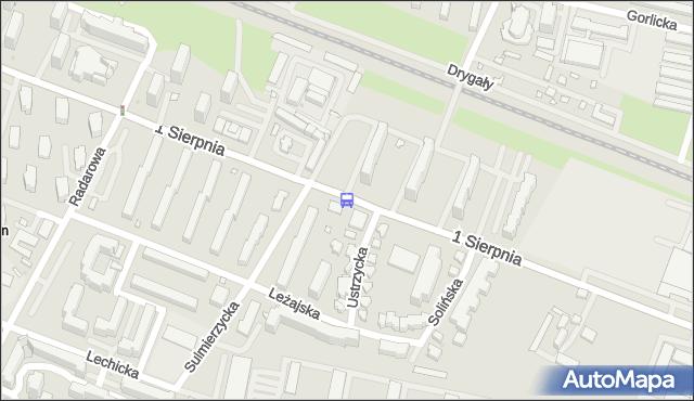 Przystanek Urząd Statystyczny 01. ZTM Warszawa - Warszawa na mapie Targeo