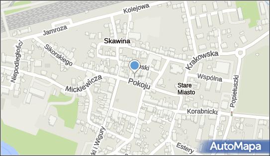 Bank Spółdzielczy w Skawinie, Skawina, Rynek 19 - Bank BPS - Bankomat, numer telefonu