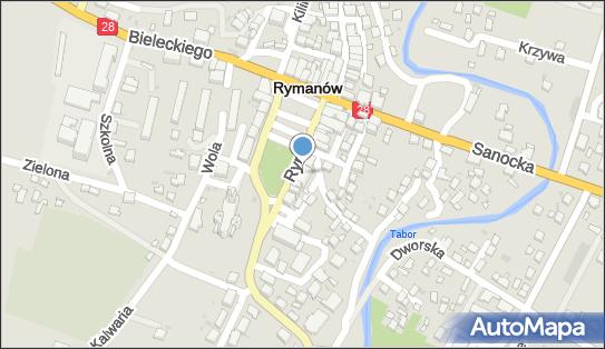 Bank Spółdzielczy w Rymanowie, 38-480 Rymanów, ul. Rynek 14, numer telefonu