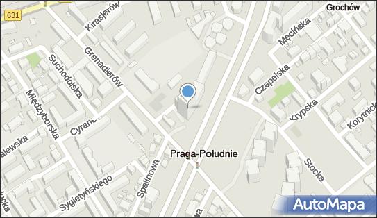 Blue Point, Warszawa, Aleja Stanów Zjednoczonych 61 A - Biurowiec