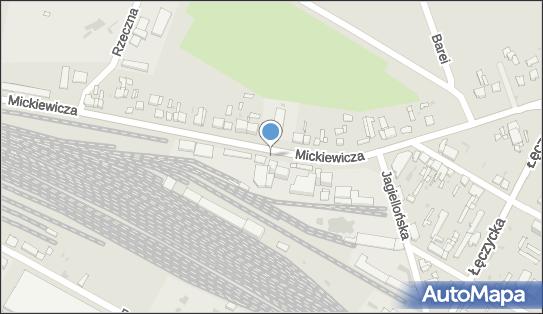 Parking, Mickiewicza Adama, Kutno 99-300 - Parking