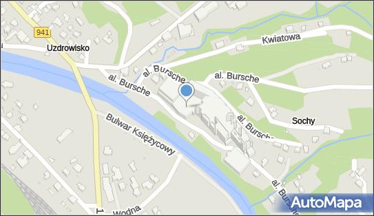 Hotel Gołebiewski, al. ks., bp. Julisza Bursche 3, Wisła 43-460 - Płatny-strzeżony - Parking