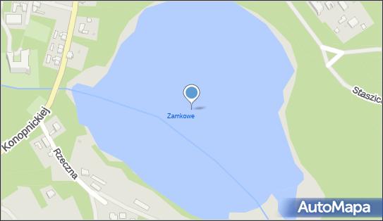 Jezioro Zamkowe (Tuczno), Tuczno - Zbiornik wodny