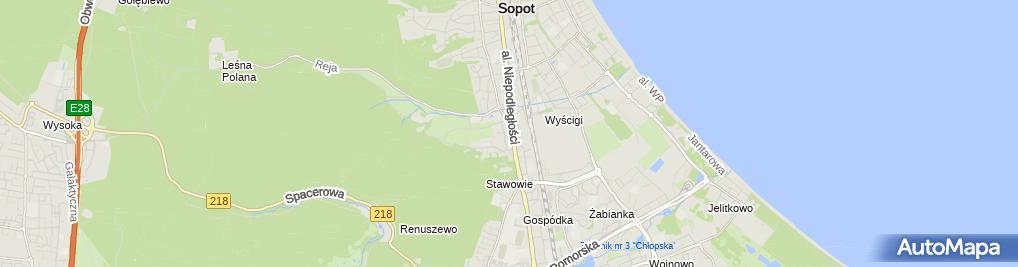 Zdjęcie satelitarne Renata Ściążko - 1.Progres Tadeusz i Renata Ściążko, 2.Renata Ściążko