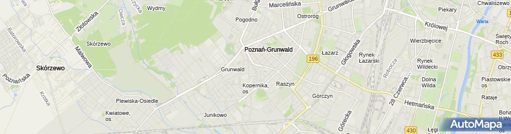 Zdjęcie satelitarne Aldi