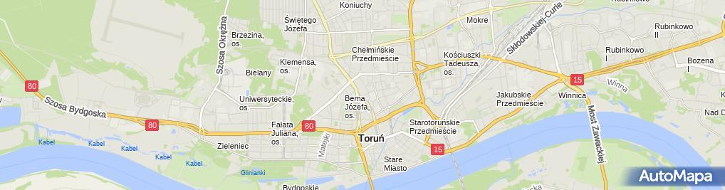Zdjęcie satelitarne Politowski Wiesław Zakład Ogólno Budowlany