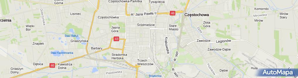 Zdjęcie satelitarne Przedsiębiorstwo Produkcyjno-Handlowo-Usługowe Progres Sylwia Sojda