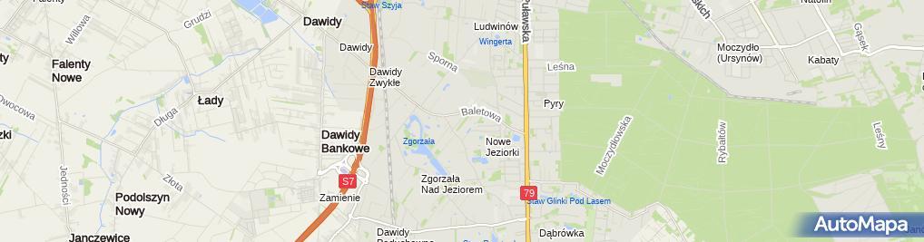 Zdjęcie satelitarne WygodnaDieta.pl