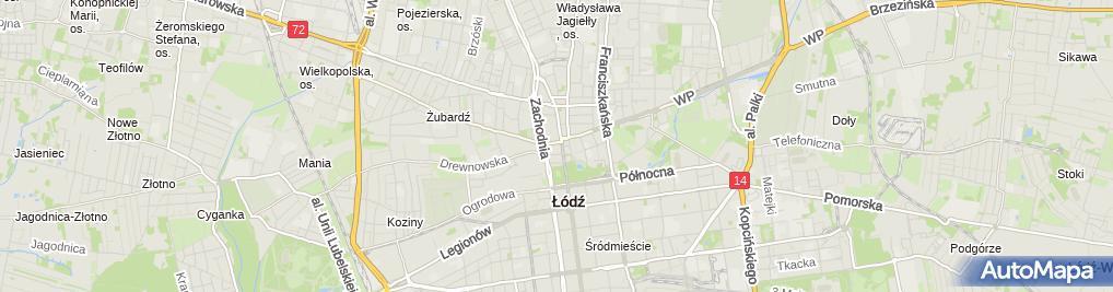 Zdjęcie satelitarne Gabinet Dentystyczny Dobrosława Marcinkowska