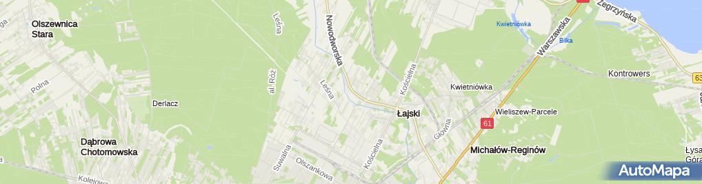 Zdjęcie satelitarne Złota Jesień Kiełczewski Sp. z o.o.