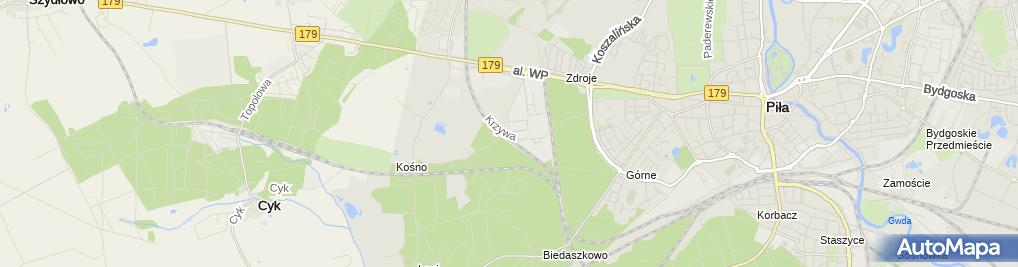 Zdjęcie satelitarne AGORA S.A.