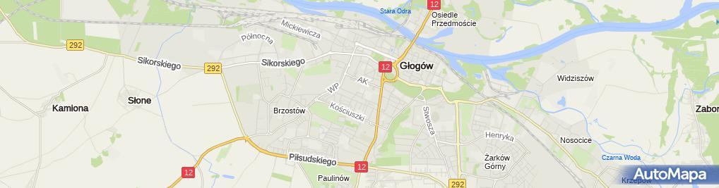 Zdjęcie satelitarne Jacek i Agatka