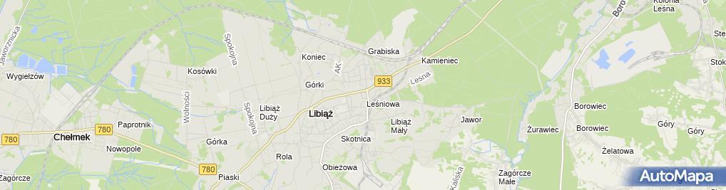 Zdjęcie satelitarne Euronet