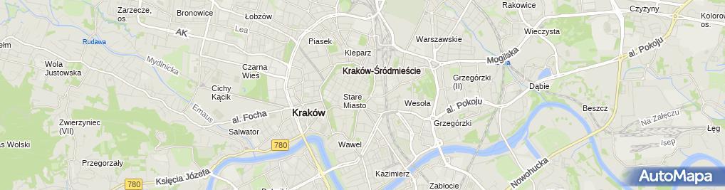 Zdjęcie satelitarne Awaria