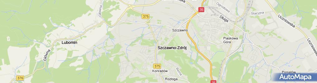 Zdjęcie satelitarne Sanatorium Dom Zdrojowy