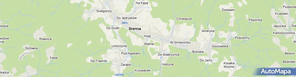 Zdjęcie satelitarne Kotarz