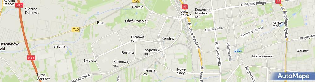 Zdjęcie satelitarne Kard. Stefan Wyszyński