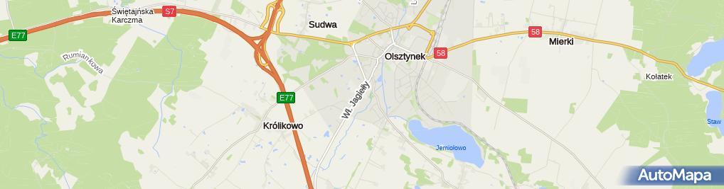 Zdjęcie satelitarne Pomoc drogowa