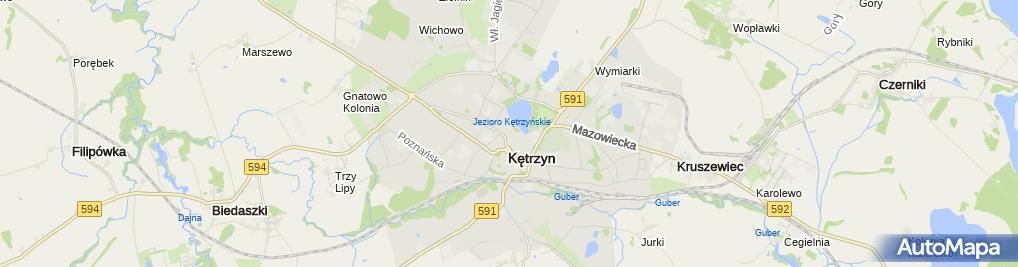 Zdjęcie satelitarne Arkadiusz Supiński - Działalność Gospodarcza