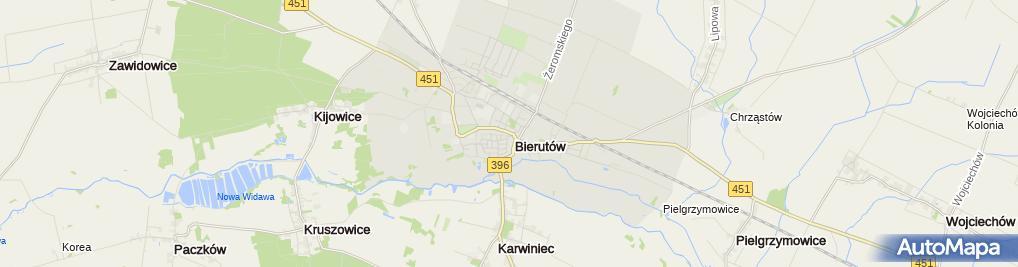 Zdjęcie satelitarne Garmażerka Jaś i Małgosia Małgorzata Derejczyk
