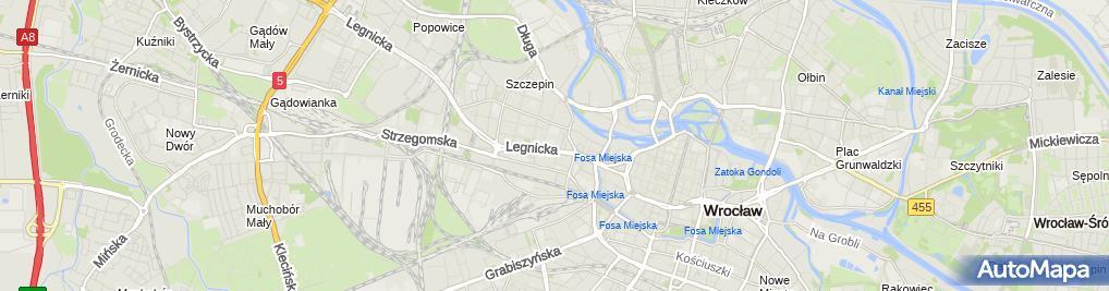"""Zdjęcie satelitarne Prywatne Biuro Informacji i Pośrednictwa """"Inpo"""" Chac Tadeusz"""