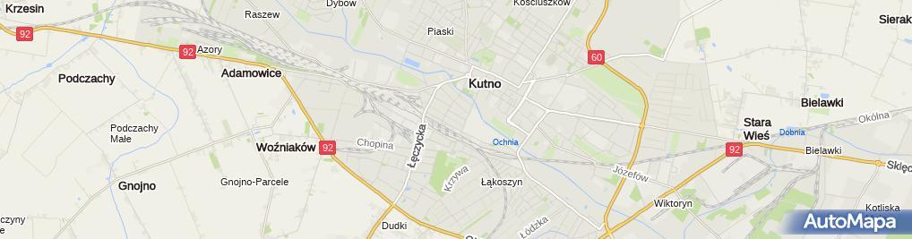 Zdjęcie satelitarne Przedsiębiorstwo Produkcyjno Usługowe Aurelia Jujka Stanisław Jujka