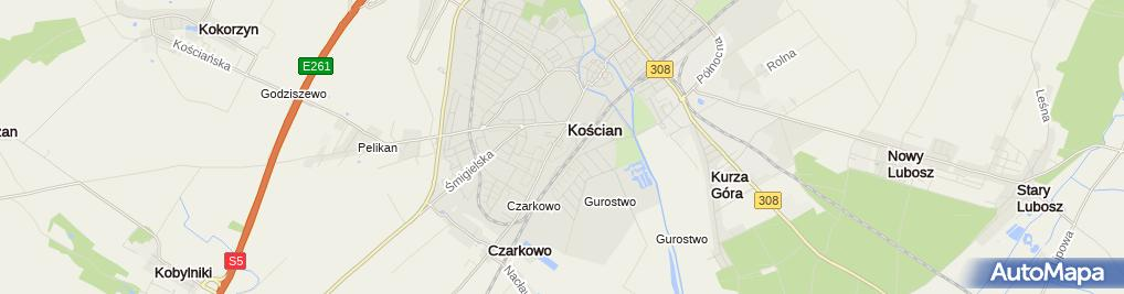 Zdjęcie satelitarne Centrum Medyczne Eskulap