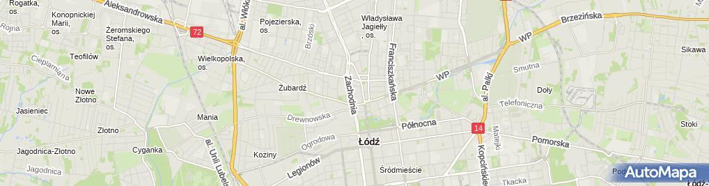 Zdjęcie satelitarne Medycyna Grabieniec