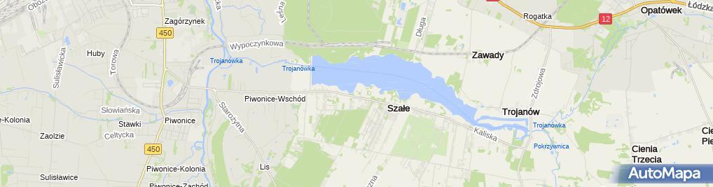 Zdjęcie satelitarne KTW