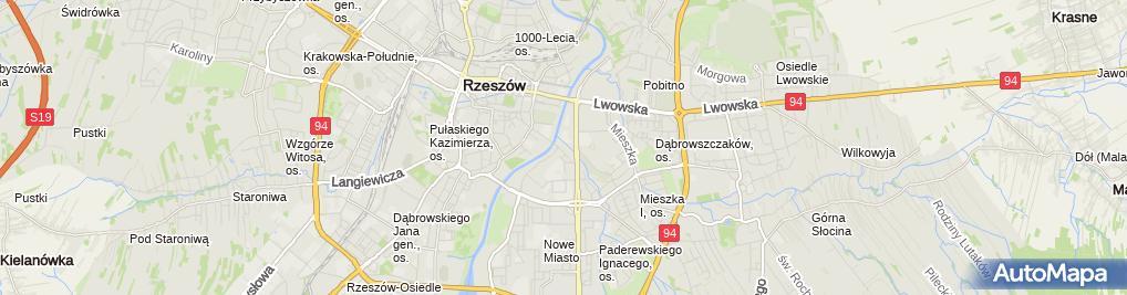 Zdjęcie satelitarne Stacja Wojewódzka