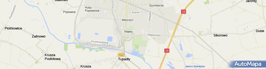 Zdjęcie satelitarne Starostwo Powiatowe w Inowrocławiu