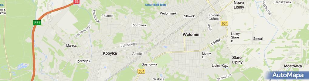 Zdjęcie satelitarne Starostwo Powiatowe / Wydział Komunikacji