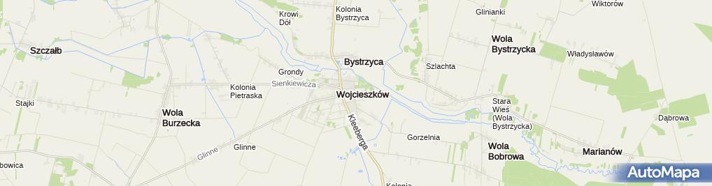 Zdjęcie satelitarne w ZS im. Henryka Sienkiewicza