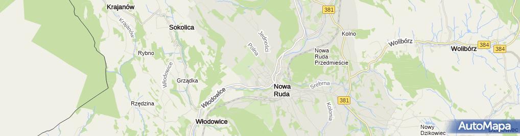 Zdjęcie satelitarne Miejski