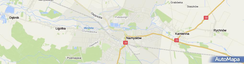 Zdjęcie satelitarne Kościół św. Piotra i Pawła