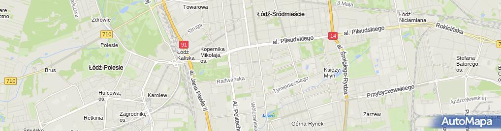 Zdjęcie satelitarne PGE Obrót, BOK Kościuszki